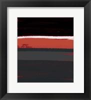 Framed White Stripes
