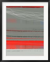 Abstract Red 2 Framed Print