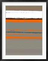 Abstract Orange 2 Framed Print