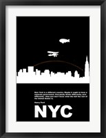 Framed New York Night