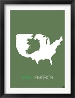 Irish America Framed Print