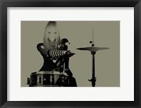 Framed Drummer