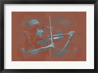 Framed Violinist Brown