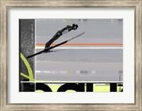 Framed Ski Jumping