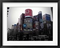 Framed Tokyo Advertising