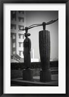 Framed Tokyo City Sculpture