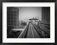 Framed Tokyo Train Ride 1