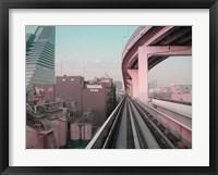 Framed Tokyo Train Ride 5