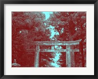 Framed Nikko Gate