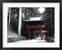 Framed Red Gate