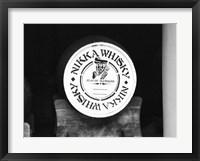 Framed Nikko Whiskey Barrel