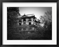 Framed Japanese Traditional House