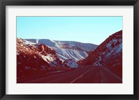 Framed Death Valley Road