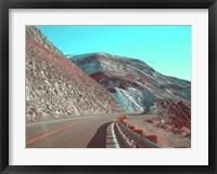 Framed Death Valley Road 1