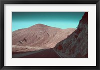 Framed Death Valley Road 2