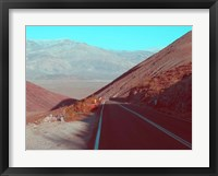 Framed Death Valley Road 3