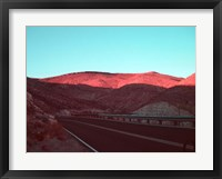 Framed Death Valley Road 4