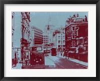 Framed London Fleet Street
