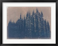 Framed Milan Cathedral