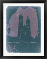 Framed Poland Krakow
