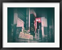 Framed Tokyo Lights