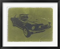 Framed 1968 Ford Mustang
