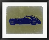 Framed Bugatti 57 S Atlantic