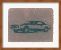 Framed Chevy Camaro