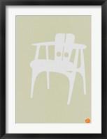 Framed Wooden Chair