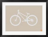Framed Bicycle Brown