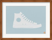 Framed White Shoe