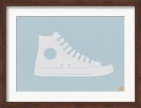 Framed White Shoe