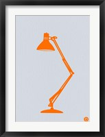 Framed Orange Lamp