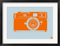 Framed Orange Camera