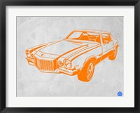 My Favorite Car 6 Framed Print