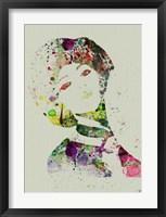 Dancer Watercolor 7 Framed Print