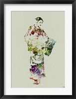 Framed Kimono Dancer 3