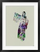 Framed Kimono Dancer 6