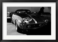 Framed Ferrari in the Pit 2