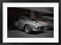 Framed Ferrari 250 GTB Before The Race
