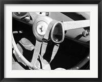 Framed Ferrari Steering Wheel 1