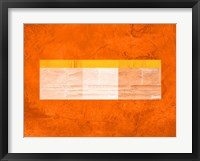 Framed Orange Paper 3