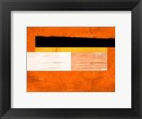 Framed Orange Paper 4
