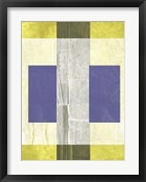 Yellow Mist 1 Framed Print