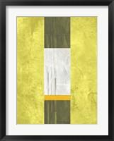 Yellow Mist 2 Framed Print