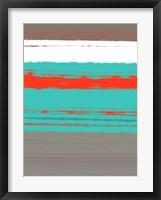 Aquatic Breeze 4 Framed Print