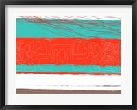 Aquatic Breeze 6 Framed Print