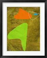 Shapes 2 Framed Print