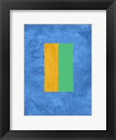 Framed Blue and Square Theme 2