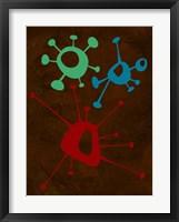 Framed Abstract Splash Theme 6